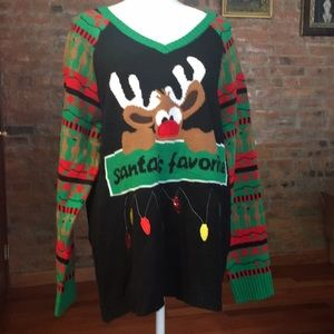 Sweaters - Plus size ugly Christmas sweater size 3X